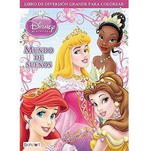 Disney Princess Big Fun Book To Color